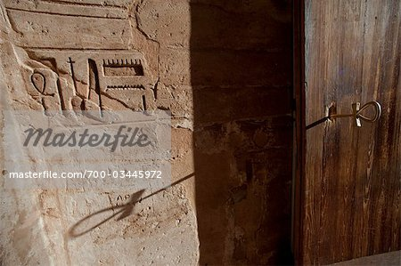 Ankh Key and Hieroglyphs, Abu Simbel Temple, Nubia, Egypt Stock Photo - Rights-Managed, Image code: 700-03445972