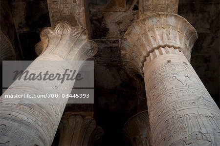 Temple of Horus, Edfu, Egypt Stock Photo - Rights-Managed, Image code: 700-03445993