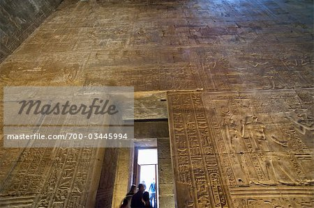 Temple of Horus, Edfu, Egypt Stock Photo - Rights-Managed, Image code: 700-03445994