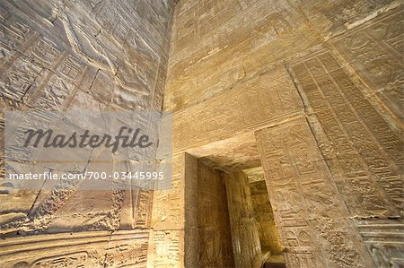 Temple of Horus, Edfu, Egypt Stock Photo - Rights-Managed, Image code: 700-03445995
