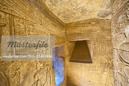 Temple of Horus, Edfu, Egypt Stock Photo - Rights-Managed, Image code: 700-03445996