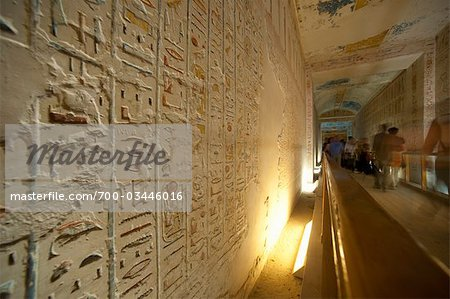 Hierogylphs, Luxor, Egypt Stock Photo - Rights-Managed, Image code: 700-03446016