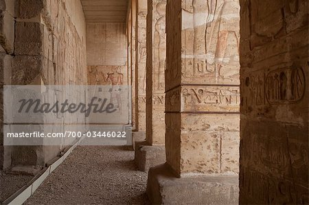 Temple, Luxor, Egypt Stock Photo - Rights-Managed, Image code: 700-03446022