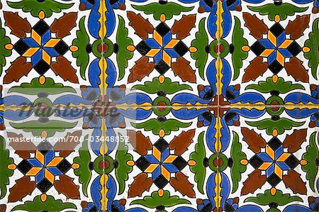 Ceramic Tile, Mendoza, Mendoza Province, Argentina Stock Photo - Rights-Managed, Image code: 700-03448852