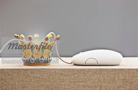 Crown with Computer Mouse