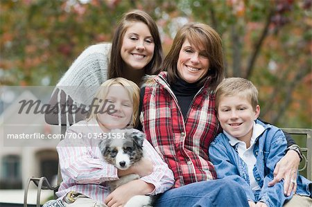 Portrait of Family Stock Photo - Rights-Managed, Image code: 700-03451551