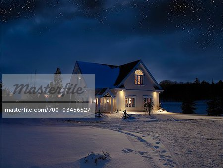 Rural House Stock Photo - Rights-Managed, Image code: 700-03456527