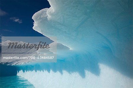 Jagged Edge of Iceberg, Antarctica Stock Photo - Rights-Managed, Image code: 700-03484587