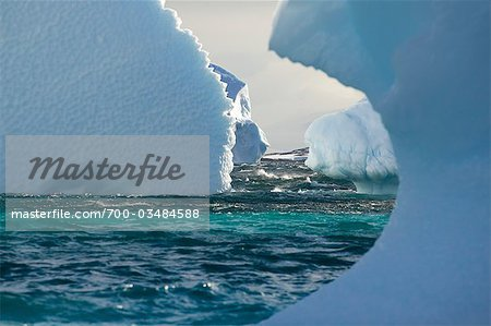 Icebergs.  Antarctica Stock Photo - Rights-Managed, Image code: 700-03484588