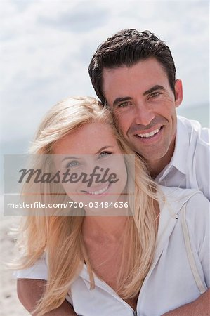Couple on Beach Stock Photo - Rights-Managed, Image code: 700-03484636