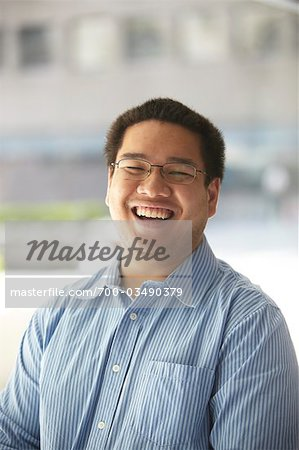 Man Laughing Stock Photo - Rights-Managed, Image code: 700-03490379