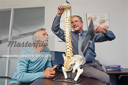 Mature Man Consulting with Doctor Stock Photo - Rights-Managed, Image code: 700-03501276