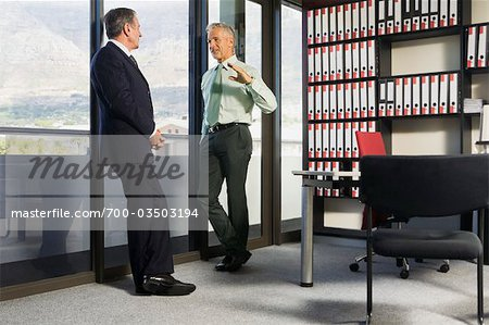 Business Executives Chatting Stock Photo - Rights-Managed, Image code: 700-03503194