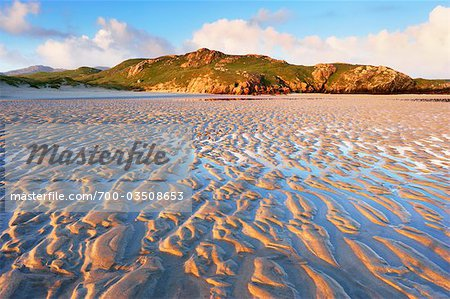 Sand Ripples on Beach at Dawn, Isle of Lewis, Scotland Stock Photo - Rights-Managed, Image code: 700-03508653