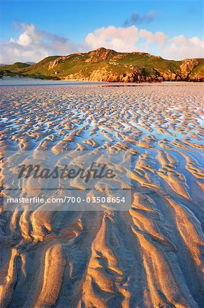 Sand Ripples on Beach at Dawn, Isle of Lewis, Scotland Stock Photo - Rights-Managed, Image code: 700-03508654