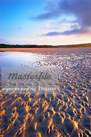 Sand Ripples on Beach at Dawn, Isle of Lewis, Scotland Stock Photo - Rights-Managed, Image code: 700-03508655