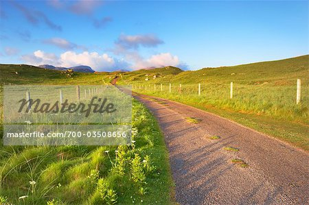 Empty Road, Isle of Lewis, Scotland Stock Photo - Rights-Managed, Image code: 700-03508656