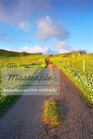 Empty Road, Isle of Lewis, Scotland Stock Photo - Rights-Managed, Image code: 700-03508657