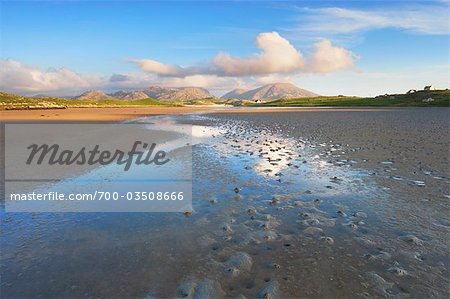 River and Salt Flats, Isle of Lewis, Outer Hebrides, Hebrides, Scotland, United Kingdom Stock Photo - Rights-Managed, Image code: 700-03508666