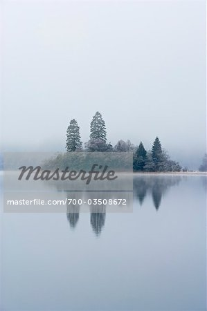 Island, Loch Achray, Trossachs, Stirling, Scotland, United Kingdom Stock Photo - Rights-Managed, Image code: 700-03508672
