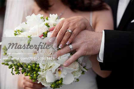 Bride and Groom's Hands Stock Photo - Rights-Managed, Image code: 700-03508826