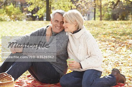 Couple, Eglinton Park, Toronto, Ontario, Canada Stock Photo - Rights-Managed, Image code: 700-03520362