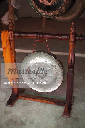 Shop Selling Metal Gongs for Buddhist Temples, Ubon Ratchathani Province, Northeast Thailand Stock Photo - Rights-Managed, Image code: 700-03520656