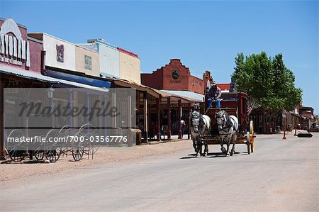 Tombstone, Cochise County, Arizona, USA Stock Photo - Rights-Managed, Image code: 700-03567776