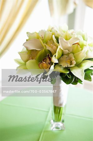 Still Life of Wedding Bouquet Stock Photo - Rights-Managed, Image code: 700-03567847