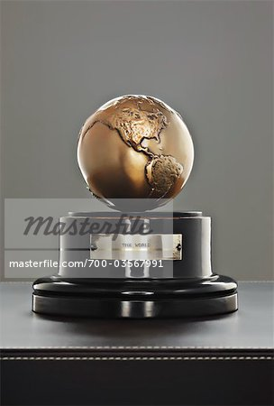 Globe on Stand Stock Photo - Rights-Managed, Image code: 700-03567991