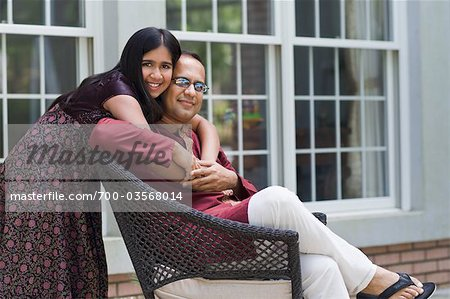 Portrait of Father and Daughter Stock Photo - Rights-Managed, Image code: 700-03568014