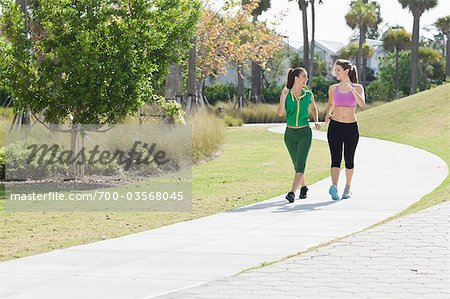 Two Women Walking Stock Photo - Rights-Managed, Image code: 700-03568045