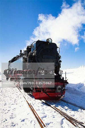 Steam Engine, Brocken, Germany Stock Photo - Rights-Managed, Image code: 700-03573867