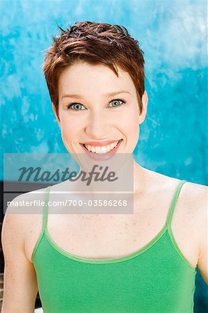 Portrait of Woman Stock Photo - Rights-Managed, Image code: 700-03586268