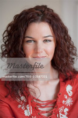 Portrait of Woman Stock Photo - Rights-Managed, Image code: 700-03587331