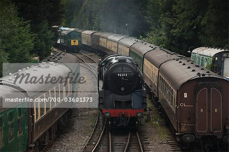 Historic English Steam Engine, Alresford, Essex, England Stock Photo - Rights-Managed, Image code: 700-03601373