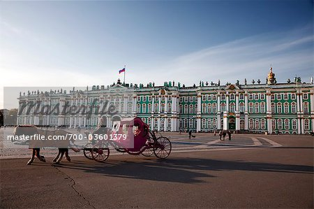 Winter Palace, Hermitage Museum, St Petersburg, Northwestern Federal District, Russia Stock Photo - Rights-Managed, Image code: 700-03601379