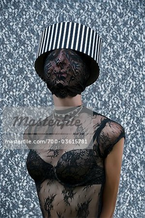 Portrait of Fashion Model Stock Photo - Rights-Managed, Image code: 700-03615781