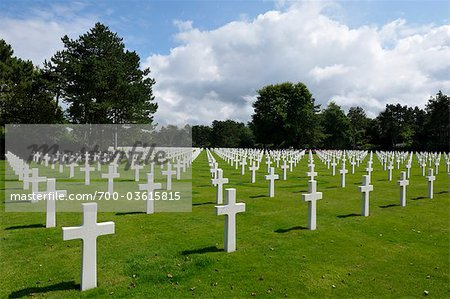 Normandy American Cemetery and Memorial, Colleville-sur-Mer, Calvados, Normandy, France Stock Photo - Rights-Managed, Image code: 700-03615815