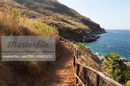 Lo Zingaro Nature Reserve, Province of Trapani, Sicily, Italy