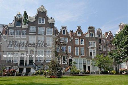 Begijnhof, Amsterdam, North Holland, Netherlands
