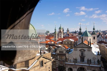 Old Town View From Charles Brige, Prague, Czech Republic Stock Photo - Rights-Managed, Image code: 700-03622833