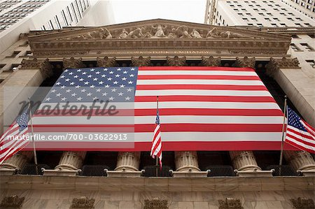 New York Stock Exchange, Wall Street, Manhattan, New York City, New York, USA Stock Photo - Rights-Managed, Image code: 700-03622913