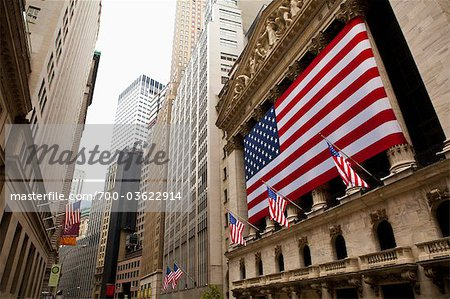 New York Stock Exchange, Wall Street, Manhattan, New York City, New York, USA Stock Photo - Rights-Managed, Image code: 700-03622914