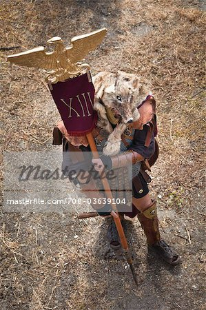 Historical Re-enactment to Celebrate the Founding of Rome on April 21, 753 BC, Rome, Italy Stock Photo - Rights-Managed, Image code: 700-03639104