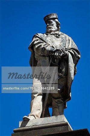 Statue of Giuseppe Garibaldi, Todi, Umbria, Italy