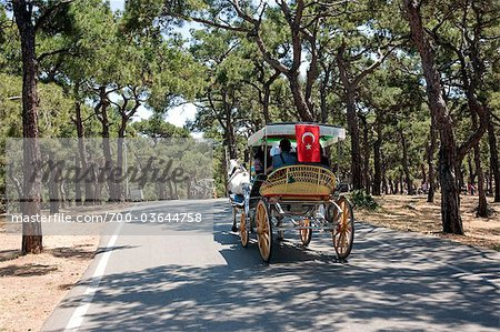 Horse-drawn Carriage, Princes' Island, Istanbul Province, Turkey Stock Photo - Rights-Managed, Image code: 700-03644758