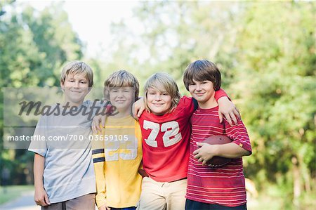 Boys with Football Stock Photo - Rights-Managed, Image code: 700-03659105