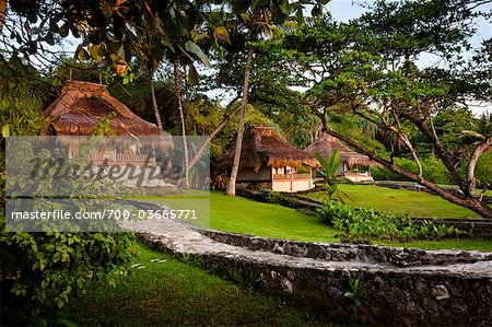 Villas at Nihiwatu Resort, Sumba, Lesser Sunda Islands, Indonesia Stock Photo - Rights-Managed, Image code: 700-03665771