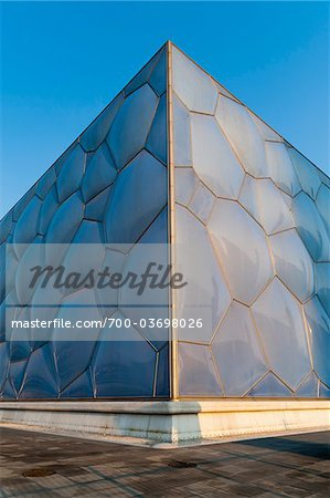Beijing National Aquatics Center, Olympic Green, Beijing, China Stock Photo - Rights-Managed, Image code: 700-03698026